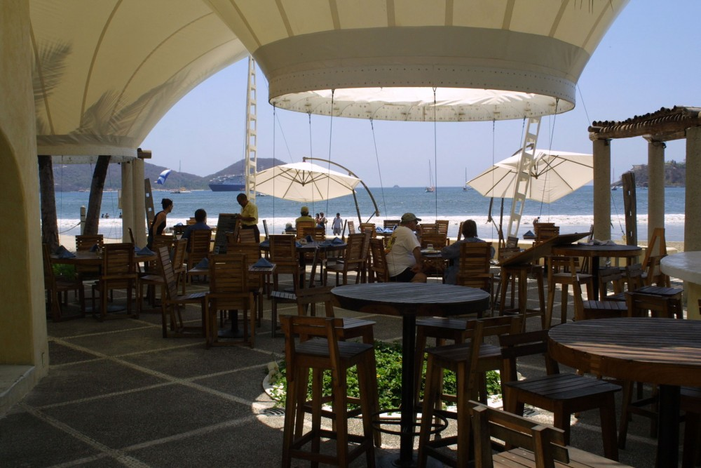 Aura del Mar, Zihuatanejo, the restaurant