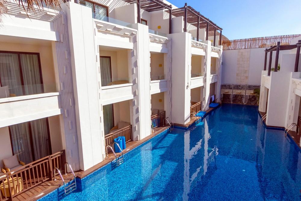 Azul Beach, the swim-up Junior Suites