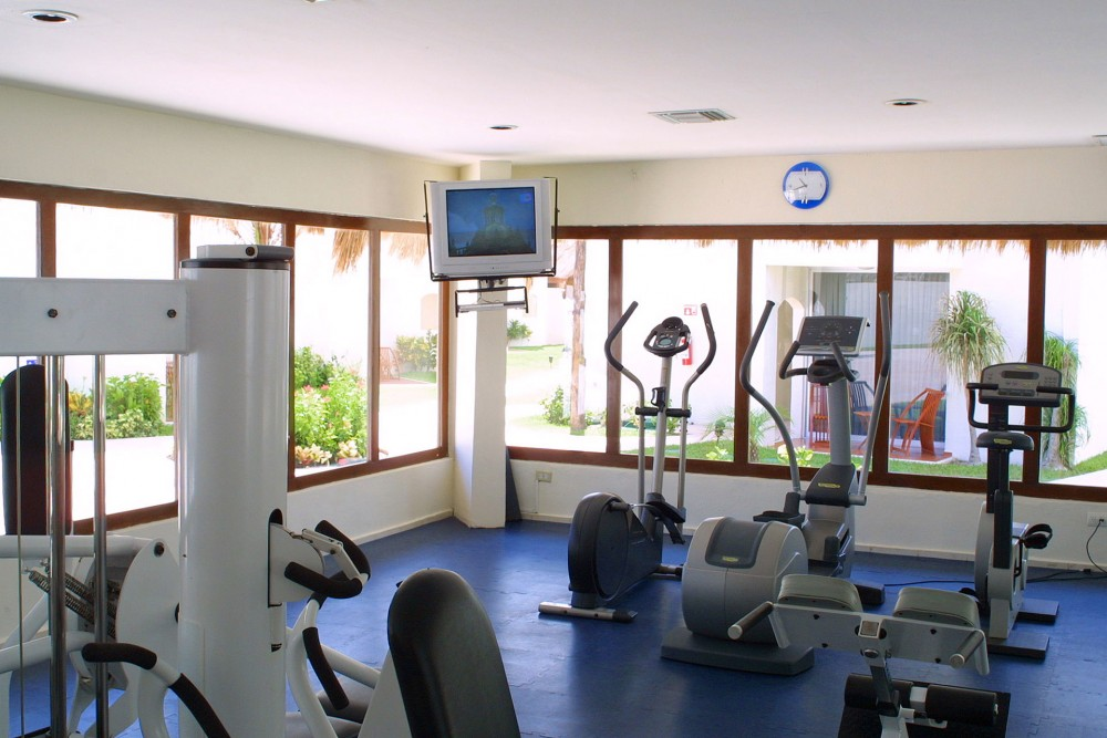 Azul Beach, the spa and fitness centers