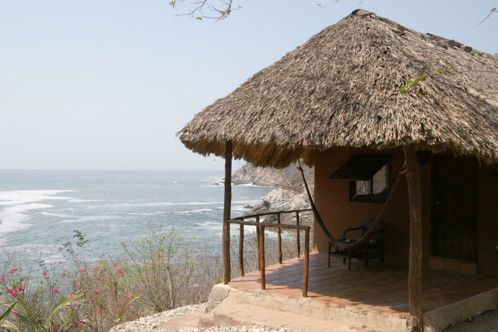 Bahia de la Luna, Oaxaca coast, Casa Grande