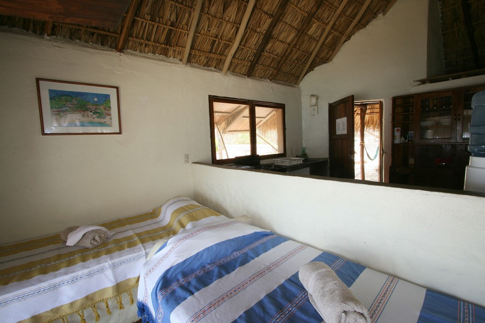 Bahia de la Luna, Oaxaca coast, Casa Ivan