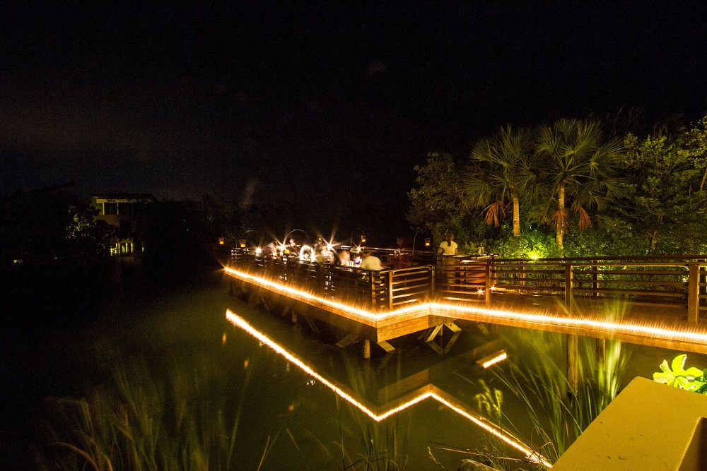Banyan Tree Mayakoba, the restaurants