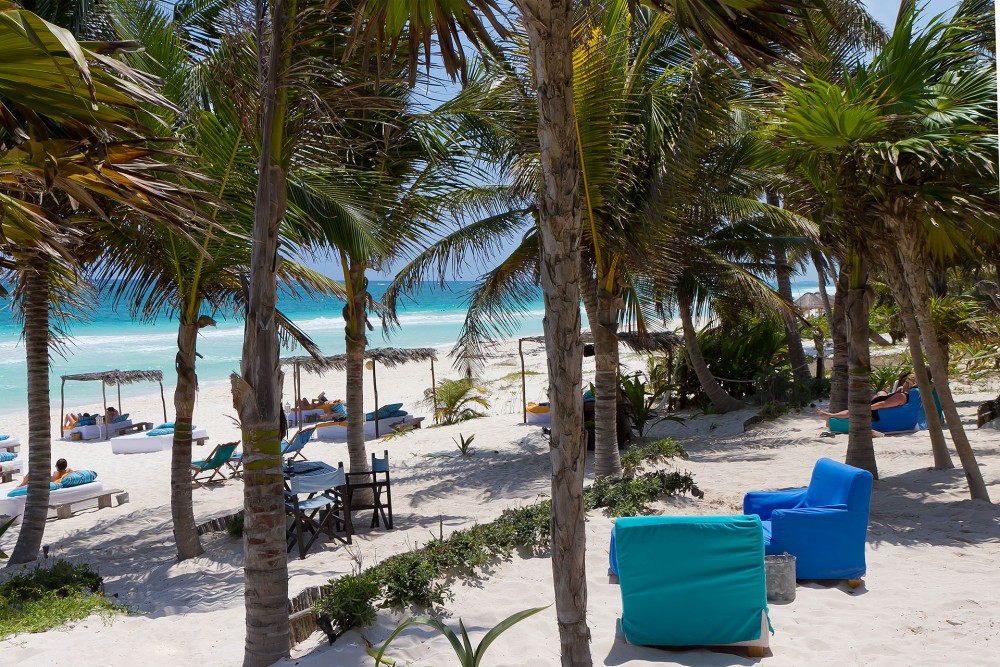 Be Tulum, the beach