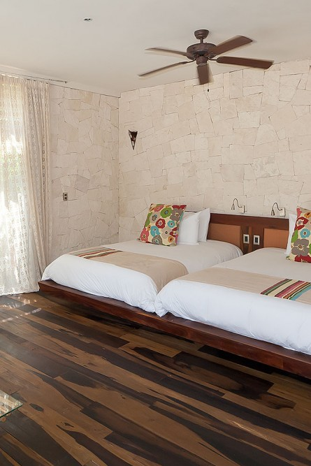 Be Tulum, lower level Jungle or Arena suite