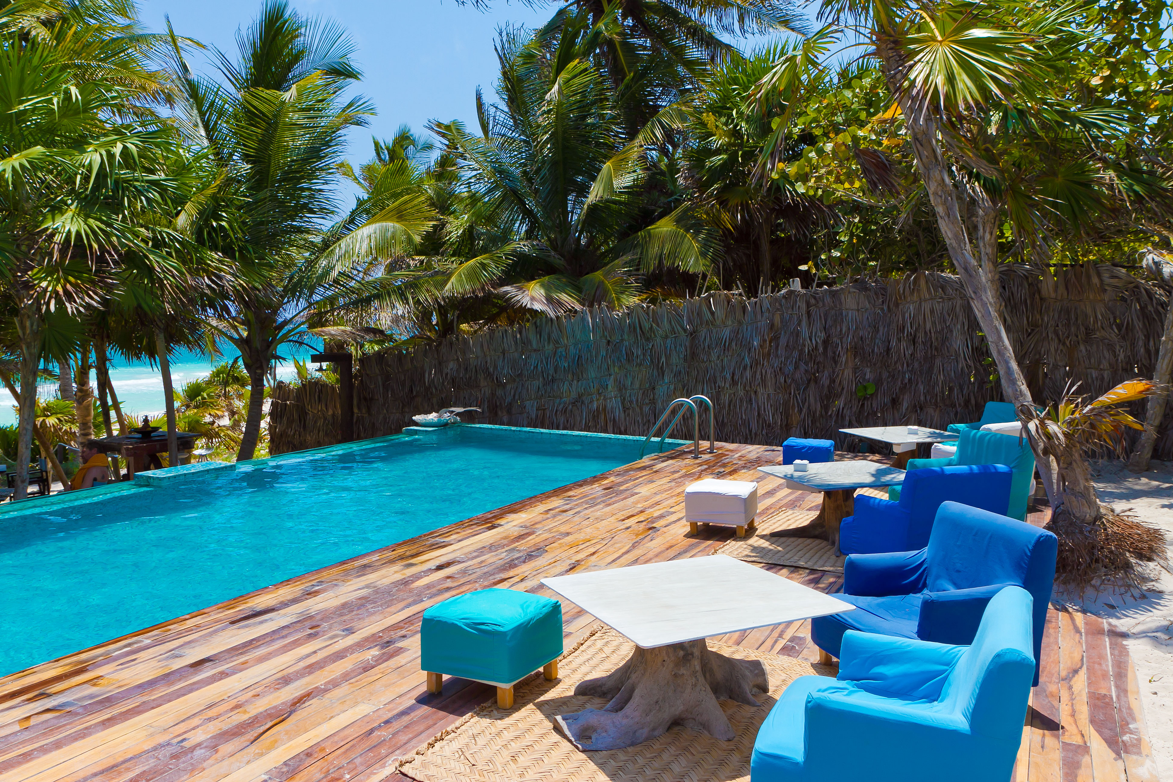 Be Tulum, the pool