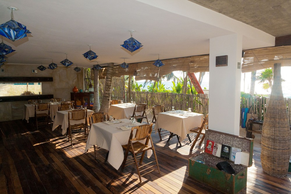 Be Tulum, the restaurant