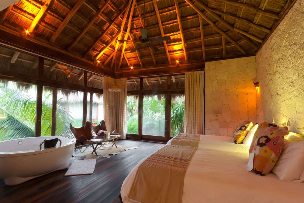Be Tulum, upper level Jungle or Arena suite