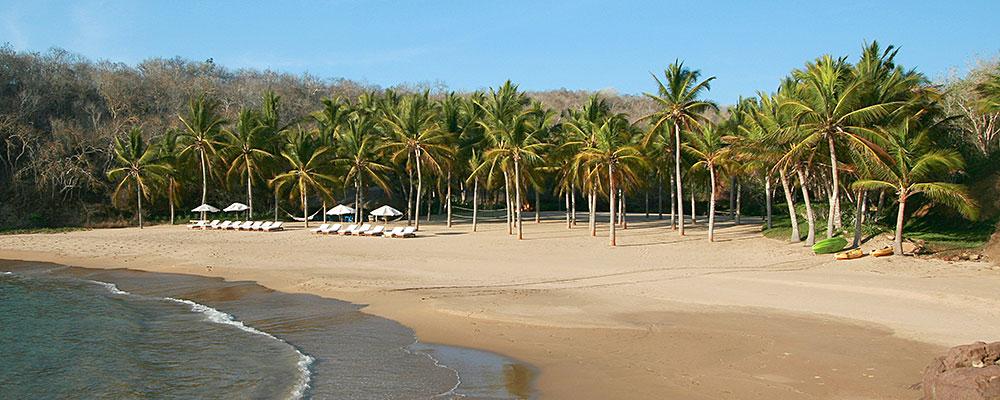 Caleta Blanca, Cuixmala beach