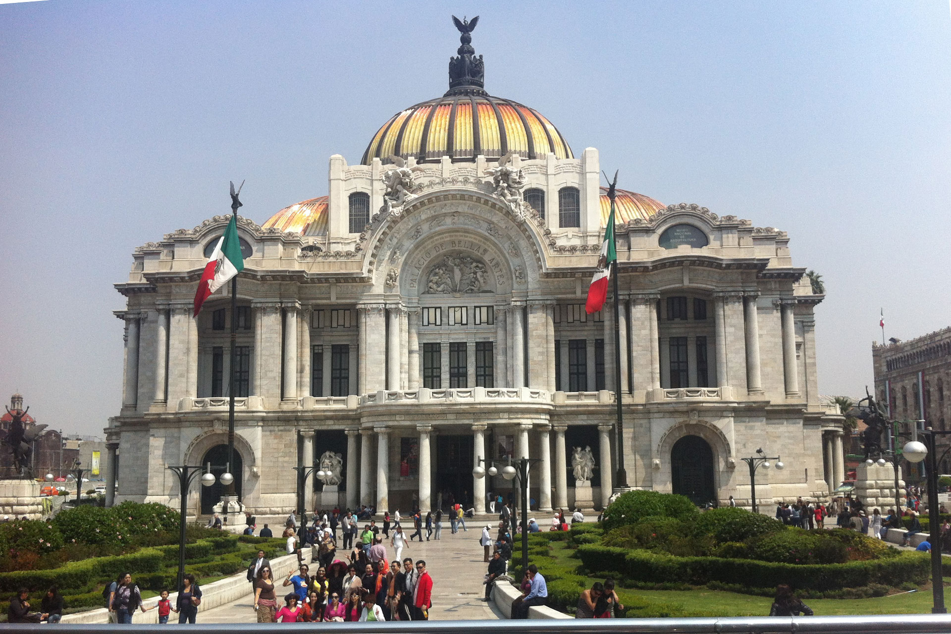 Palacio de las Bellas Artes, Mexico City