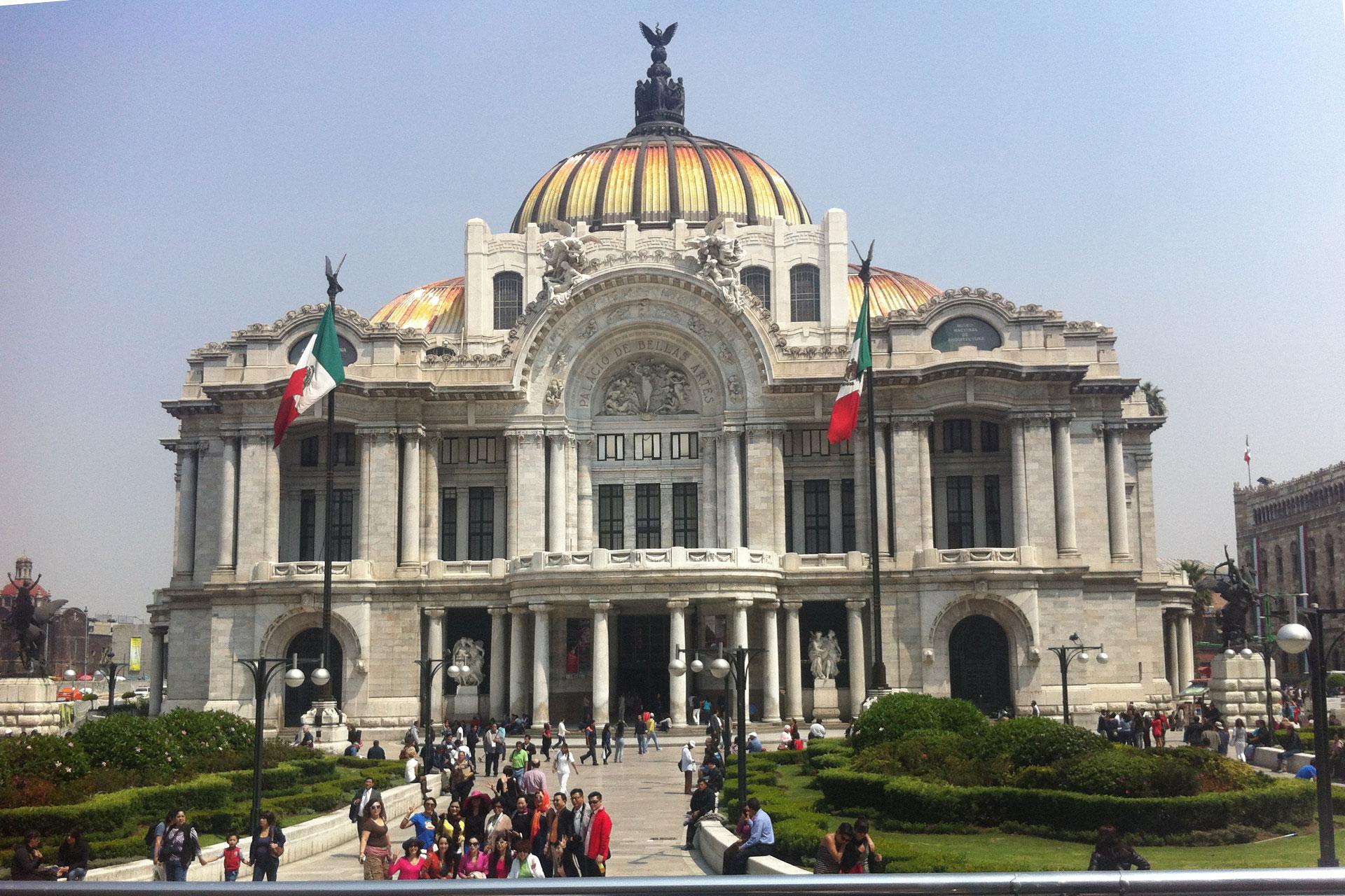 Palacio de las Bellas Artes, Mexico City