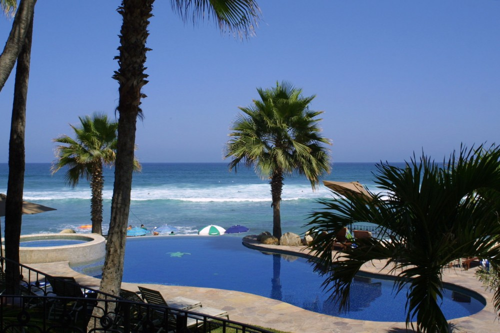 Cabo Surf Hotel, San Jose del Cabo, the pool
