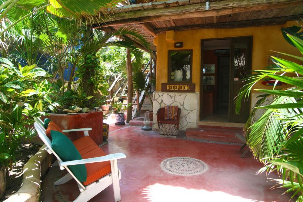 calaluna tulum, standard garden room