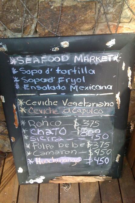 Capella Ixtapa, Seafood Market restaurant
