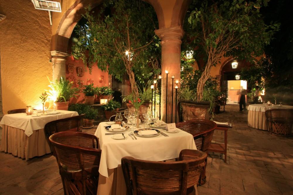 Casa de Sierra Nevada, San Miguel, the restaurant