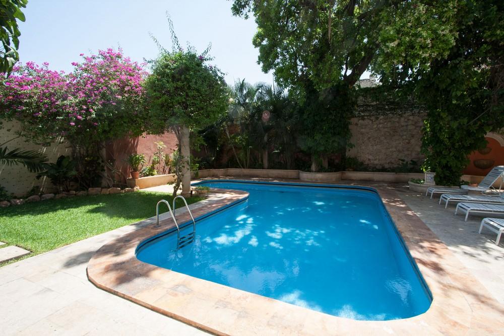 Casa del Balam, Merida, the pool