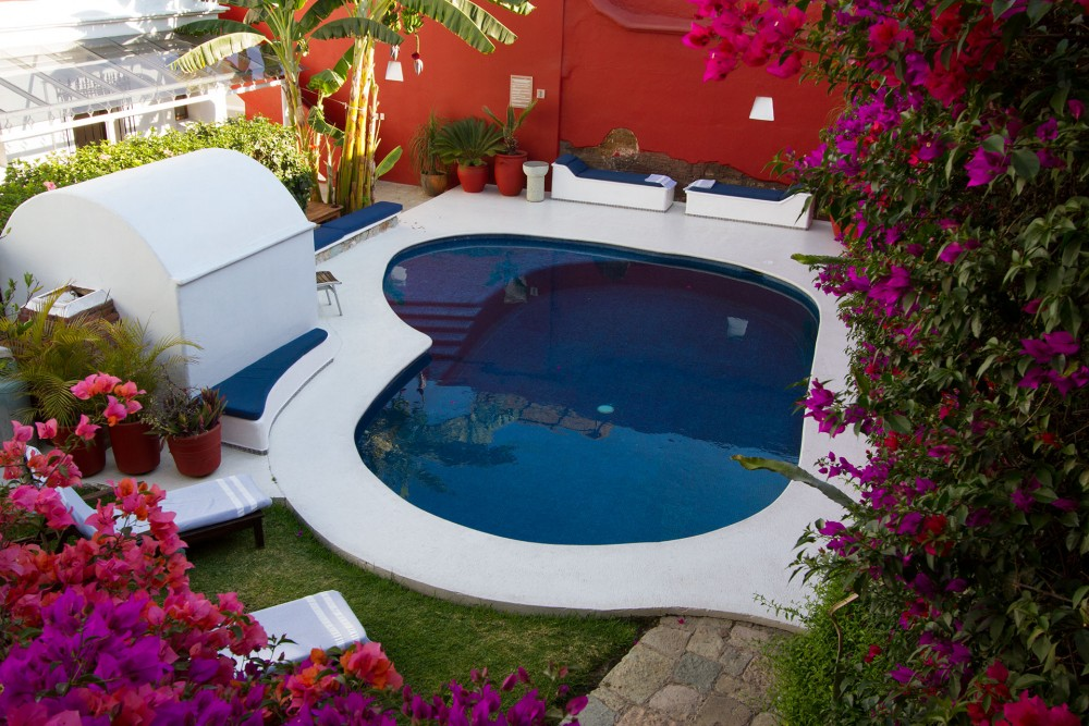 Casa Oaxaca, the pool