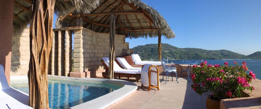 La Casa que Canta, Zihuatanejo, Pool Suite