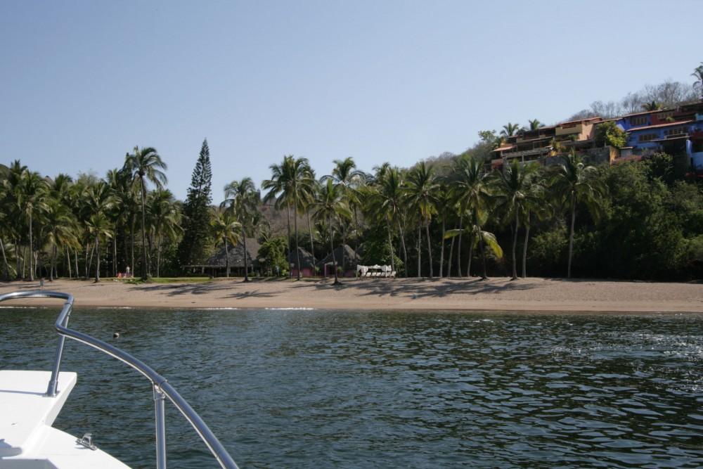 Playa Rosa beach, near Casitas de las Flores and Playa Rosa Bungalows