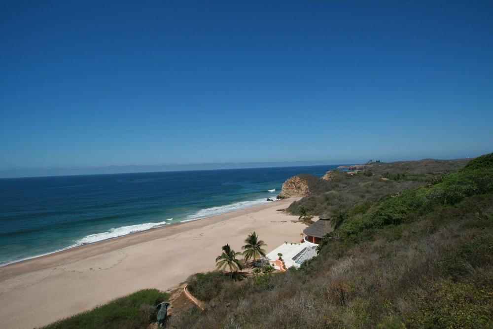 Cuixmala, Costa Careyes, the beach