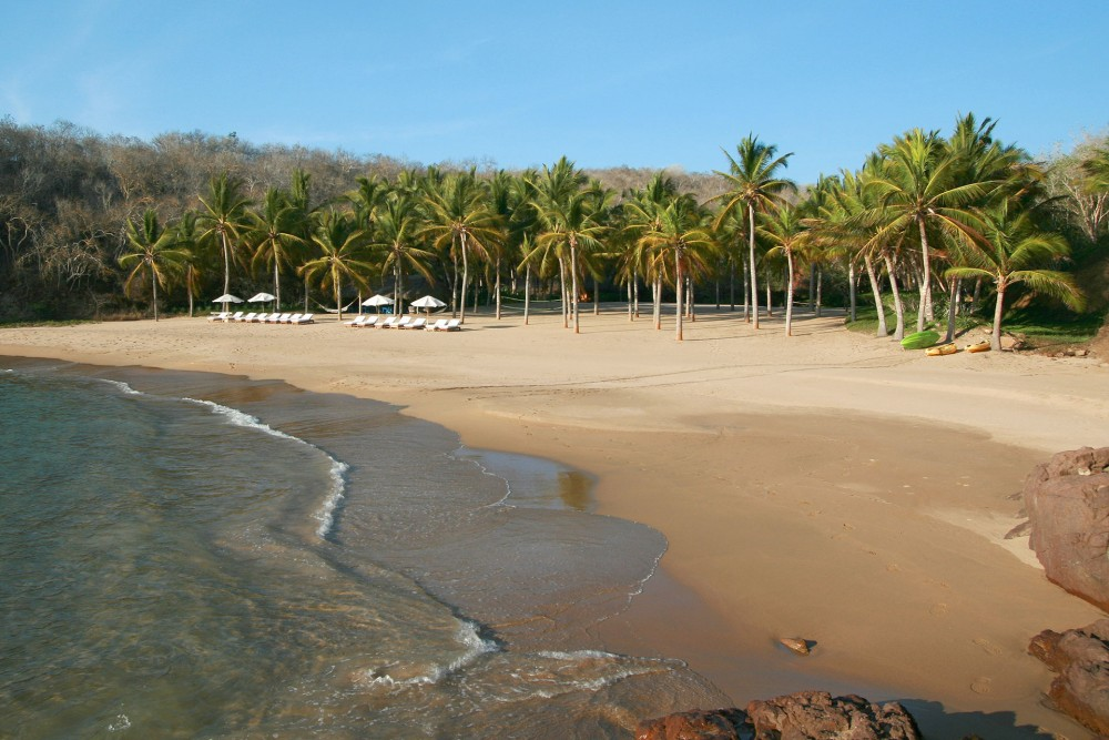 Cuixmala, Costa Careyes, the beach