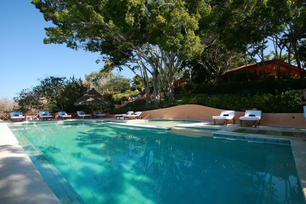 Cuixmala, Costa Careyes, the pool