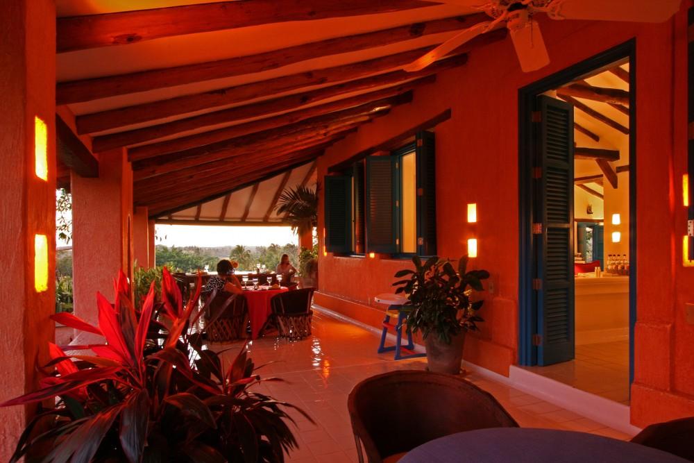 Cuixmala, Costa Careyes, the restaurant