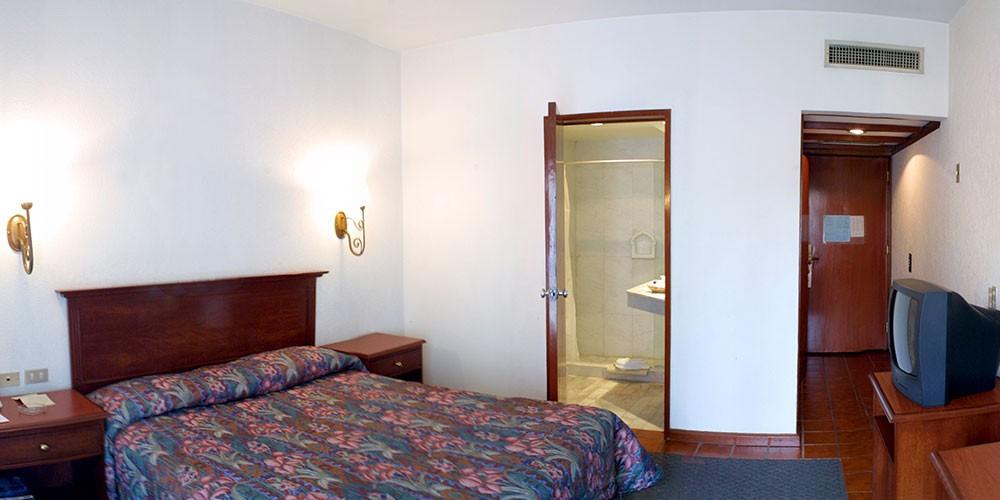 Hotel De Mendoza, Guadalajara, a Standard room