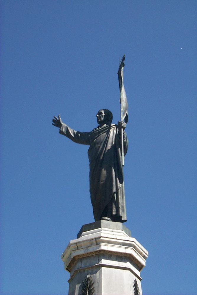 Dolores Hidalgo. Statue of Hidalgo