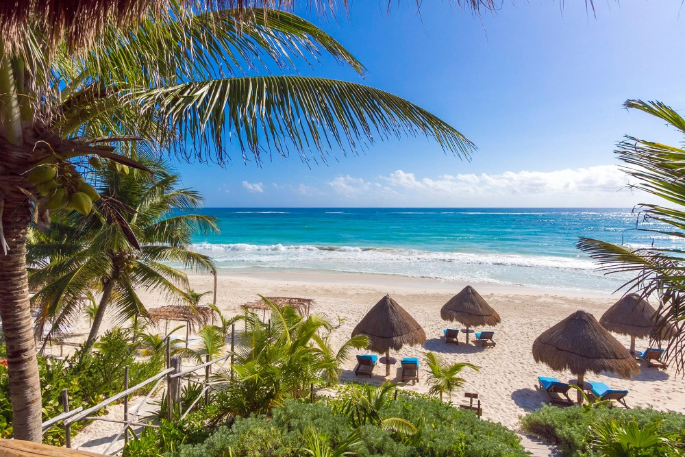 encantada tulum, the beach