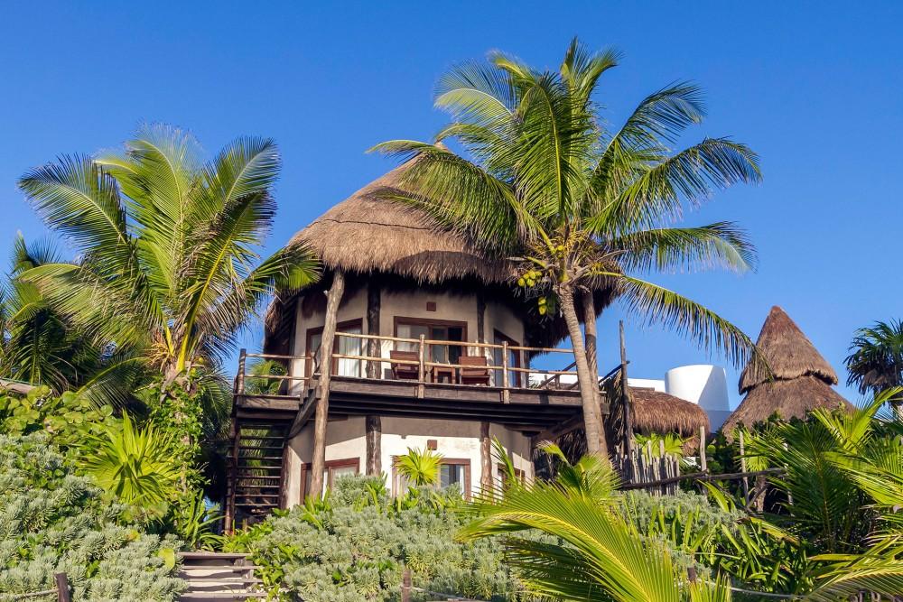 encantada tulum, ocean front rooms
