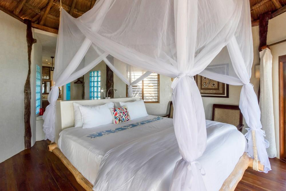 encantada tulum, ocean front room
