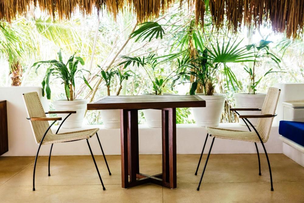 hotel esencia, garden room