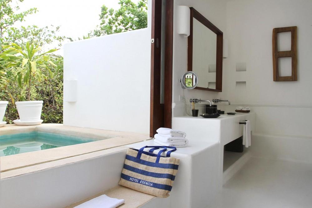 hotel esencia, garden suite