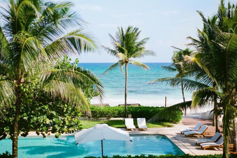 hotel esencia, the pool