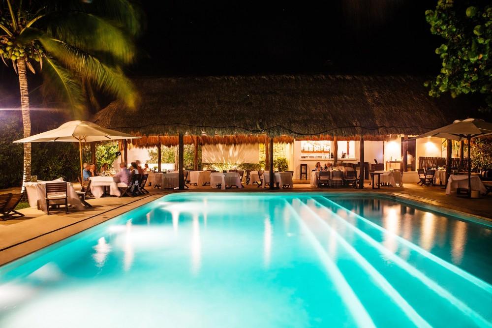 hotel esencia, the restaurant
