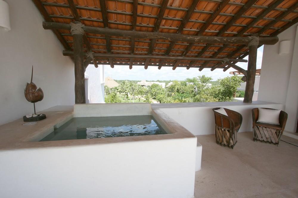 hotel esencia master suite rosa plunge pool
