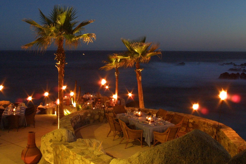 Esperanza, Los Cabos, the restaurant