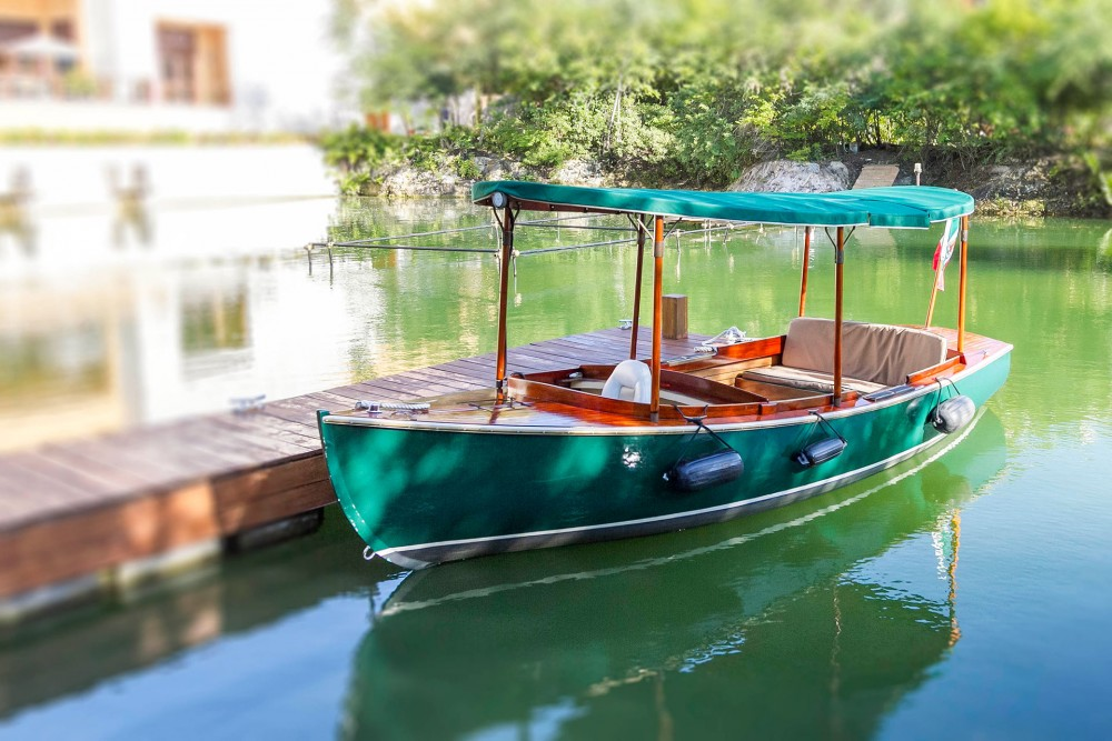 Fairmont Mayakoba, boat transportation