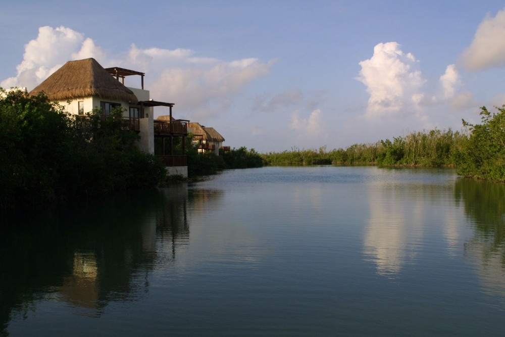 Fairmont Mayakoba, the lagoon