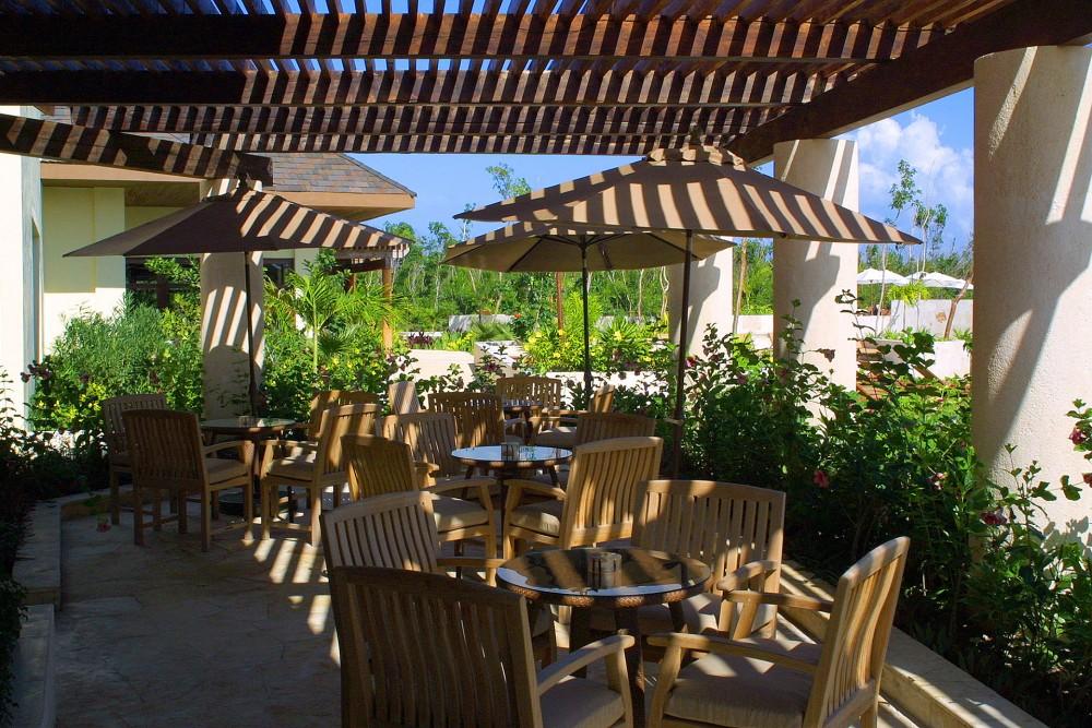Fairmont Mayakoba, la Laguna restaurant