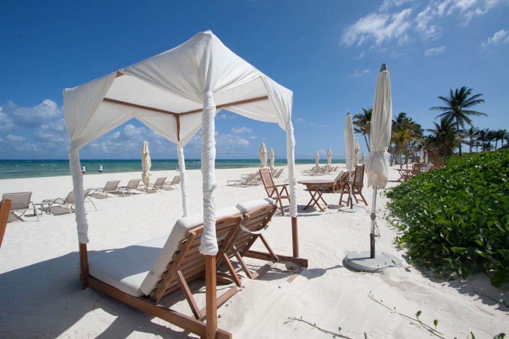 Grand Velas, Riviera Maya, the beach