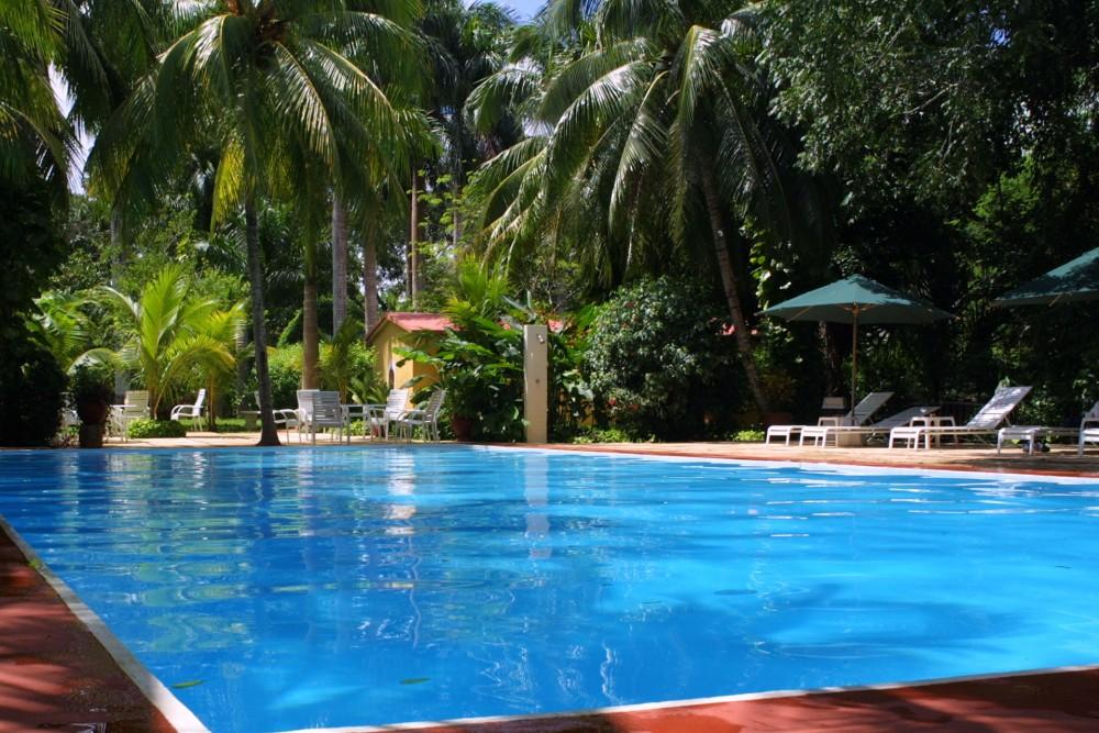 Hacienda Chichen, Chichen Itza, the pool