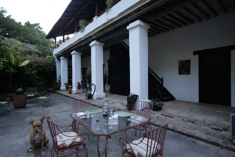 Hacienda Jalisco, San Sebastian del Oeste, the restaurant
