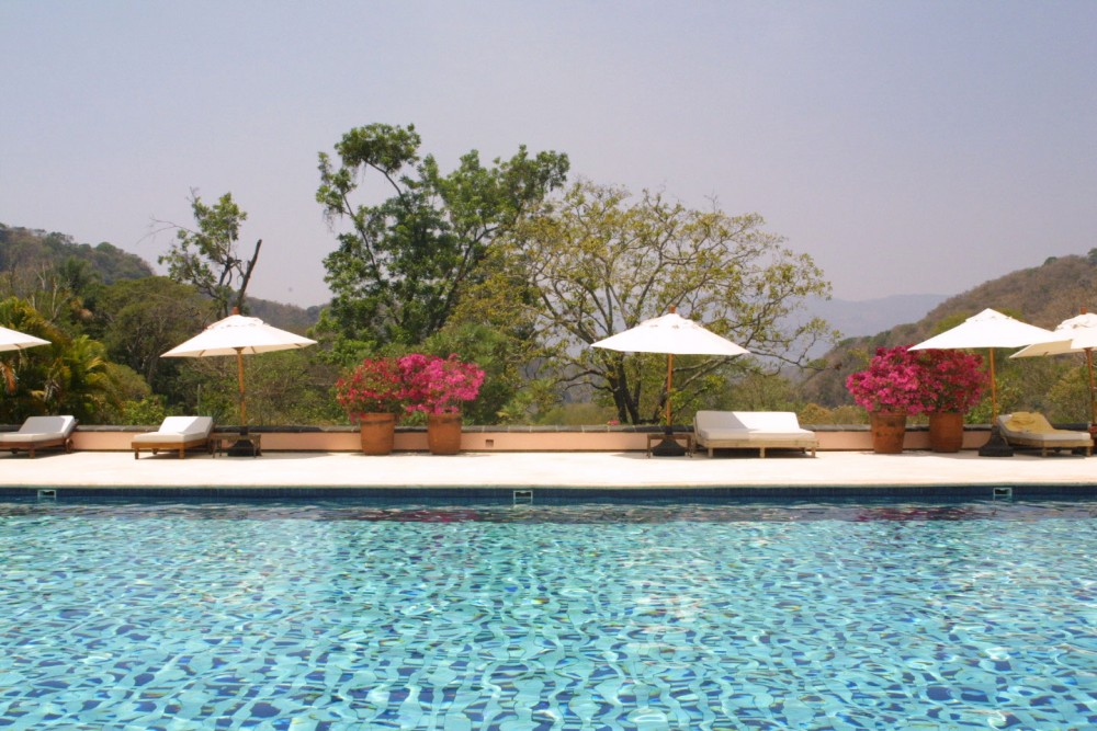 Hacienda San Antonio, Colima, the pool