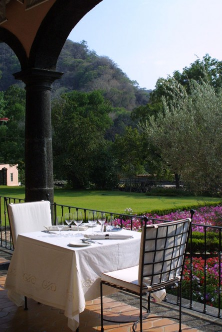 Hacienda San Antonio, Colima, the restaurant