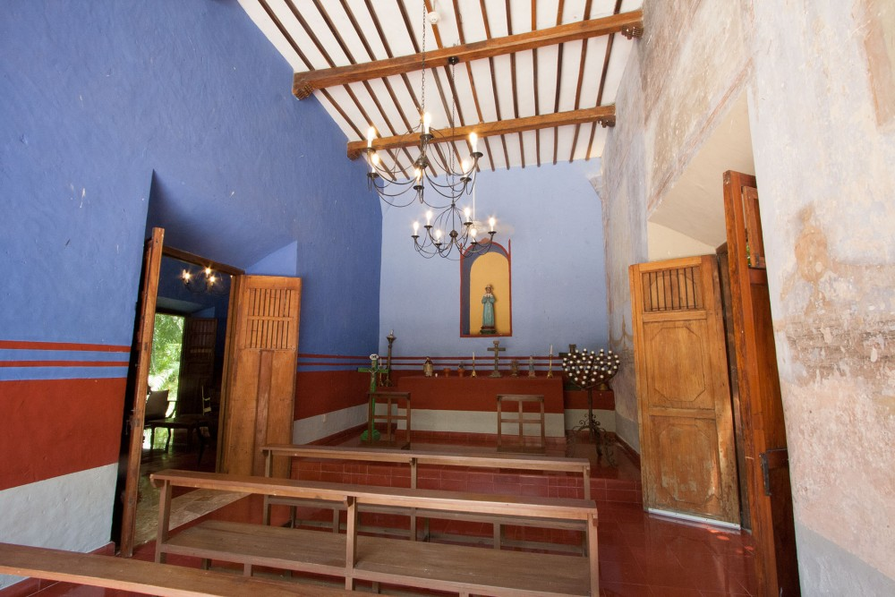 Hacienda San Jose, the chapel