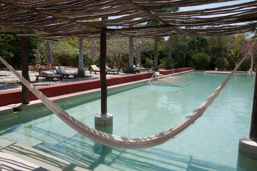 Hacienda San Jose, the pool