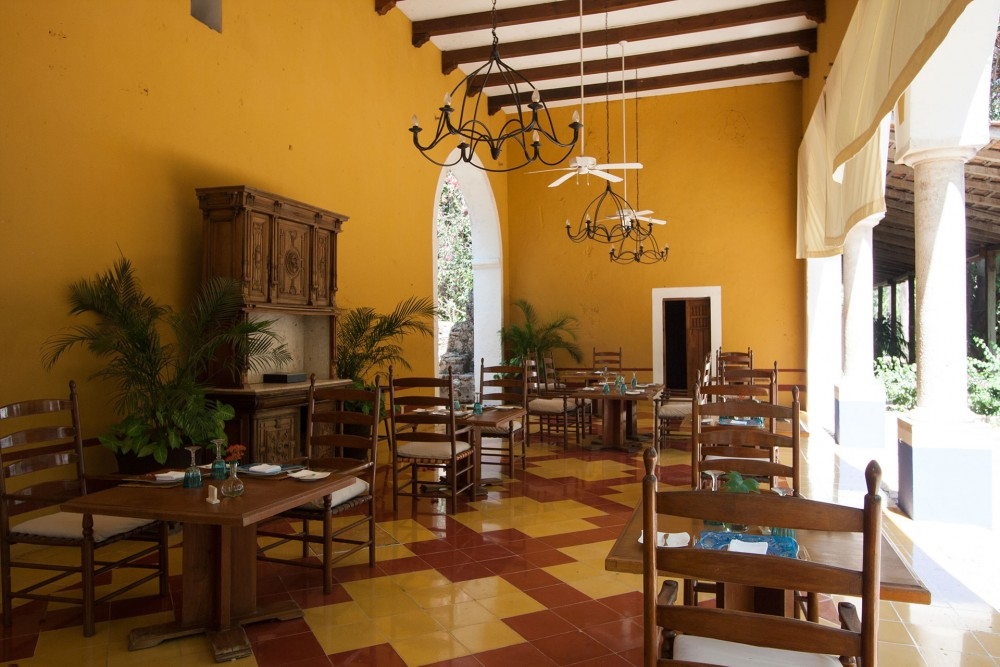 Hacienda San Jose, the restaurant