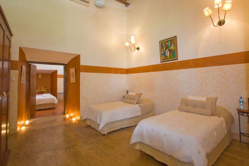 "Hacienda Santa Cruz, near Merida, Master Suite ""Kancab"""