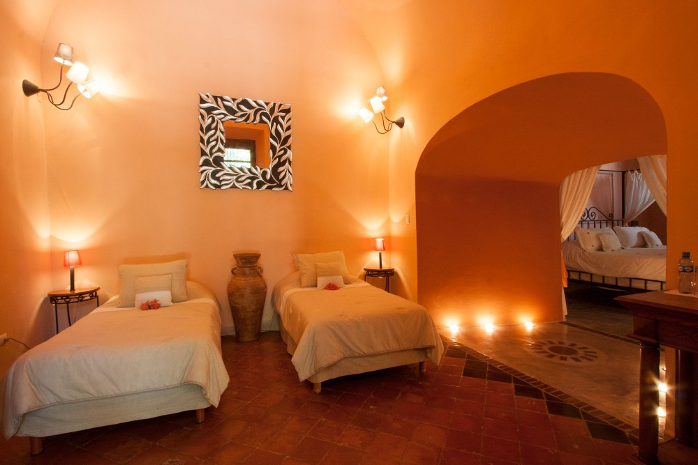 "Hacienda Santa Cruz, near Merida, Master Suite ""Pozo"""